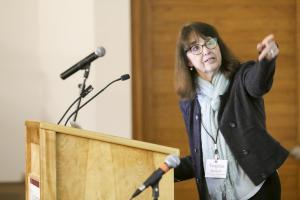 Keynote Speaker Virginia Burkett. Photo: Toni Klemm